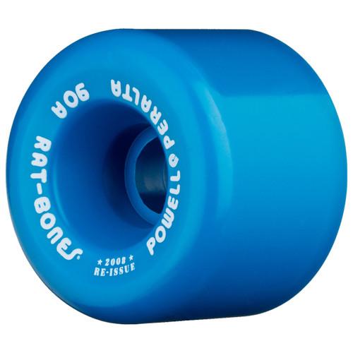 Powell Peralta Rat Bones 60MM 90A Skate Wheels in Blue