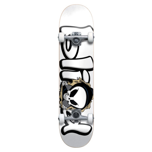Blind Bust Out Reaper FP Soft Wheel 7.625 Skateboard Complete in White