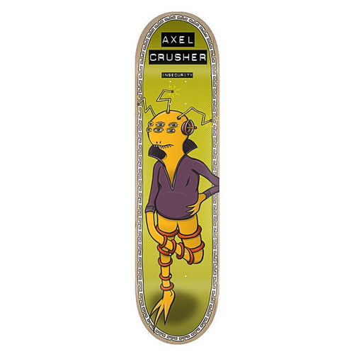 Toy Machine Axel Cruysberghs Insecurity 8.5 Skateboard Deck