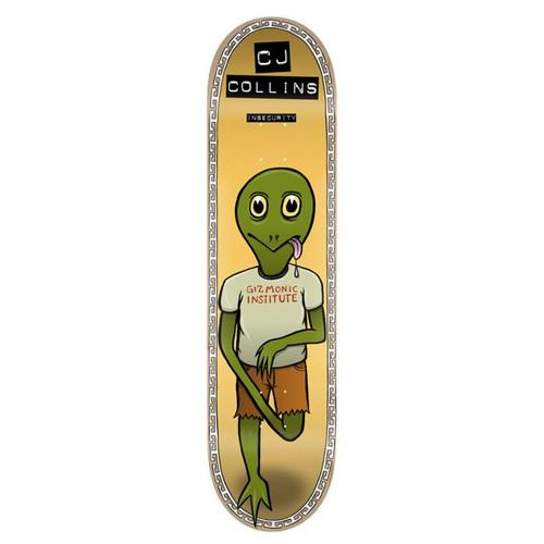 Toy Machine CJ Collins Insecurity 7.75 Skateboard Deck