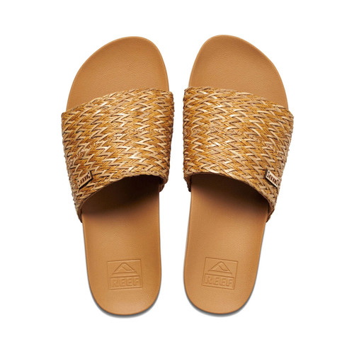 Reef Cushion Scout Braids Sandal Womens in Natural