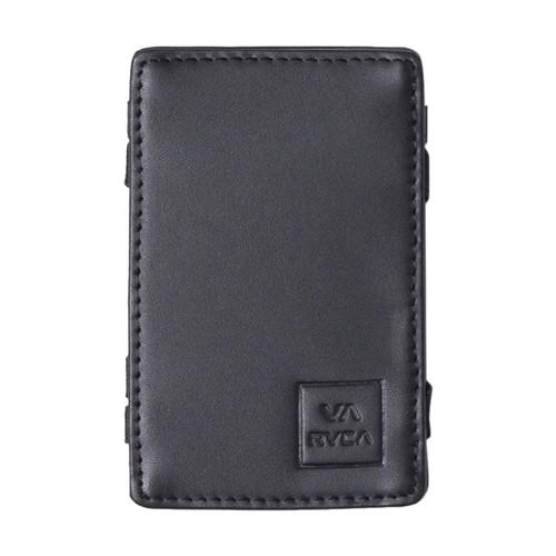 RVCA Magic Card Wallet Mens in Black