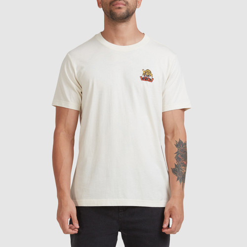 RVCA Exotic Tee Mens in Natural