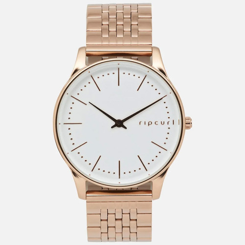 Rip Curl Supreme Slim Rose Gold SS Watch Womens Rose Gold