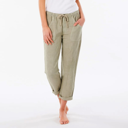 Rip Curl Panoma Pant Womens in Stone Green