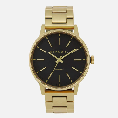 Rip Curl Drake Watch Mens in Gold
