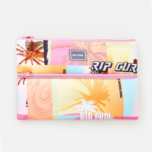 Rip Curl XL Pencil Case Mixed Womens in Pink