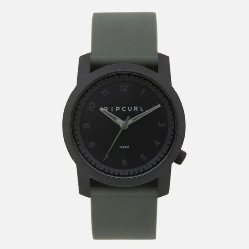 Rip Curl Cambridge Silicone Watch Mens in Army