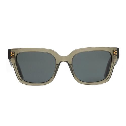 Otis Oska Sunglasses in Eco Crystal Sage Smokey Blue