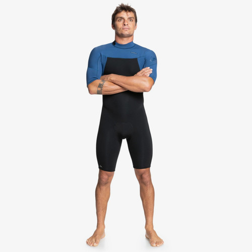 Quiksilver 2MM Everyday Sessions BZ Springsuit Mens in Black Insignia