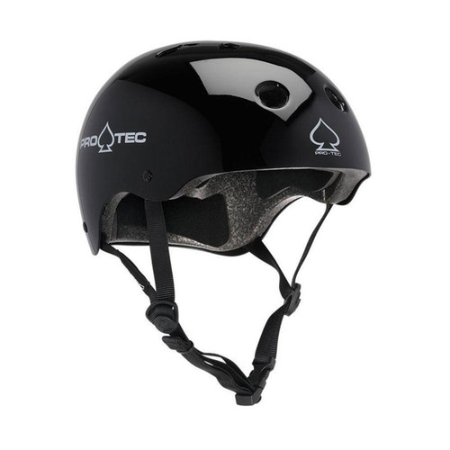 Protec Classic Certified Helmet in Gloss Black