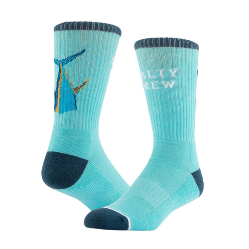 Salty Crew Tailed Sock 3 Pack 7-11US Mens in Black Blue White