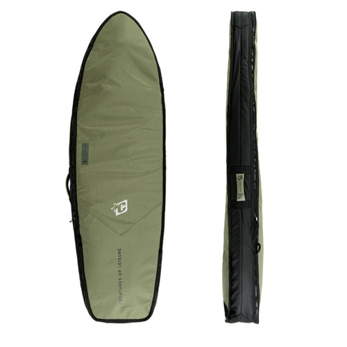 Creatures Of Leisure 5ft 10 Fish Double DT2.0 Cover in Military Black