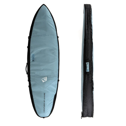 Creatures Of Leisure 6ft 7 Shortboard Double DT2.0 Cover in Slate Blue