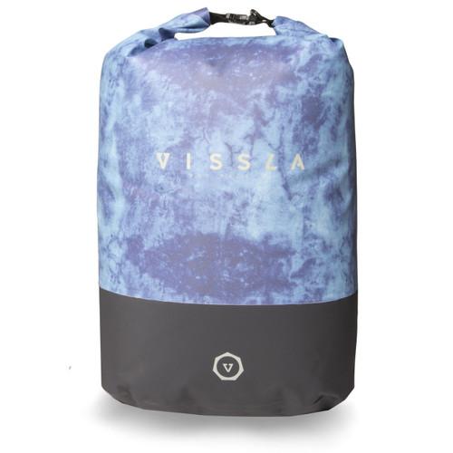 Vissla 7 Seas 35L Dry Backpack Mens in Blue Tie Dye