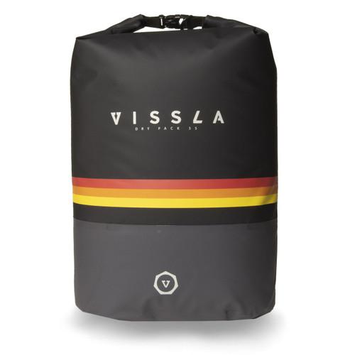 Vissla 7 Seas 35L Dry Backpack Mens in Black 3