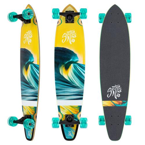 Sector 9 Highline Shine 34.5 Longboard Skateboard Complete