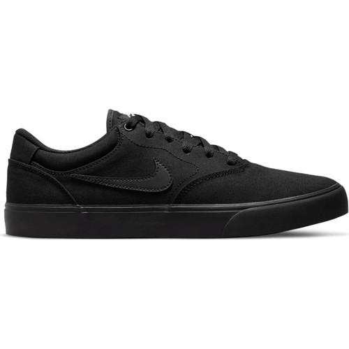Nike SB Chron 2 Canvas Shoes Mens in Black Black