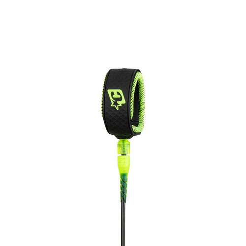 Creatures of Leisure Lite 6ft Leash in Black Lime