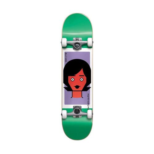 Blind Girl Doll 2 FP 8.0 Skateboard Complete in Green