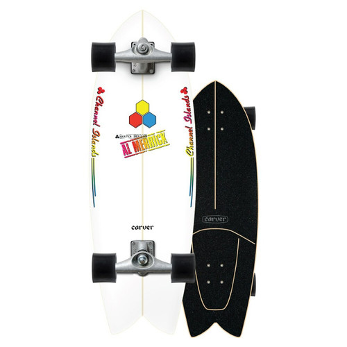 Carver x Channel Islands Fishbeard CX Raw 29.25in Surfskate Complete