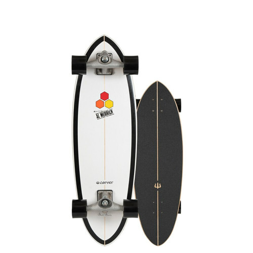 Carver x Channel Islands Black Beauty CX Raw 31.75in Surfskate Complete