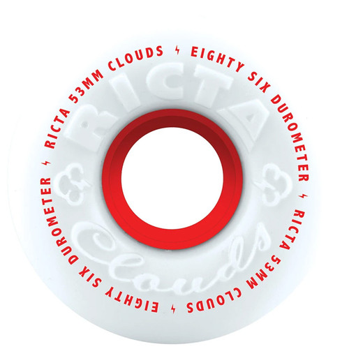 Ricta Clouds 53MM 86A Red Skate Wheels
