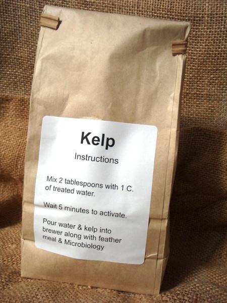 Powdered Kelp for Compost Tea