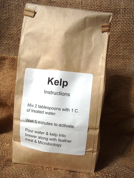 Powdered Kelp for Compost Tea