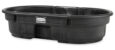 Rubbermaid 50 gallon stock tank