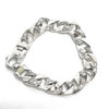 Sterling Silver Braccio Curb Chain Bracelet