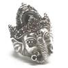 Sterling Silver Ganesha Ring