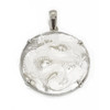 Sterling Silver Mother of Pearl Dragon