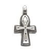 Sterling Silver Solid Ankh Pendant