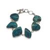 Sterling Silver Chrysocolla Bracelet