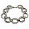 Sterling Silver and 18KY Bracelet