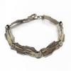 Sterling Silver and 9K Bracelet