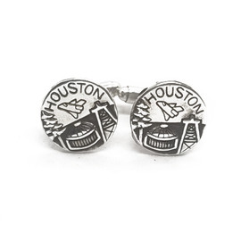 Sterling Silver Houston Cufflinks