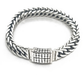 Sterling Silver and 14KY Bracelet