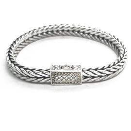 Sterling Silver Bracelet and 14KY Bracelet