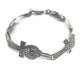 Sterling Silver Ahnk Bracelet