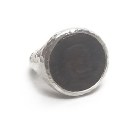 Sterling Silver with Bronze A.R.C Ring