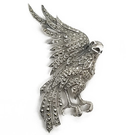 Sterling Silver Eagle Brooch