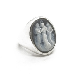 """Sterling Silver """"Three Graces"""" Ring"""