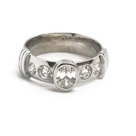 "14KW ""Silverlust Orginal""with Diamonds"