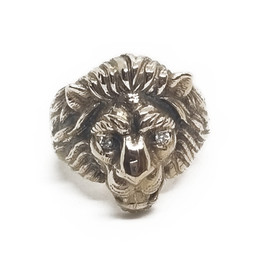 14KY Lion Ring