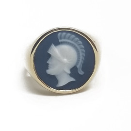 14KY Cameo Ring