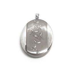 Sterling Silver Butterfly Locket