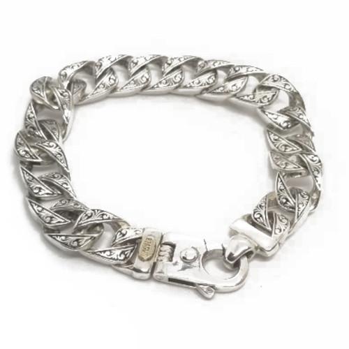 Sterling Silver Braccio Bracelet