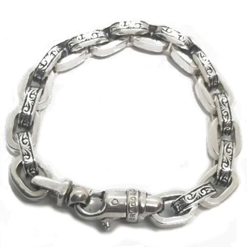 Sterling Silver Braccio Cable Bracelet